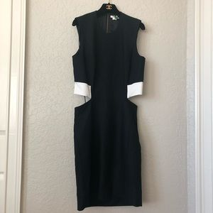 Helmut Lang Cutout Dress